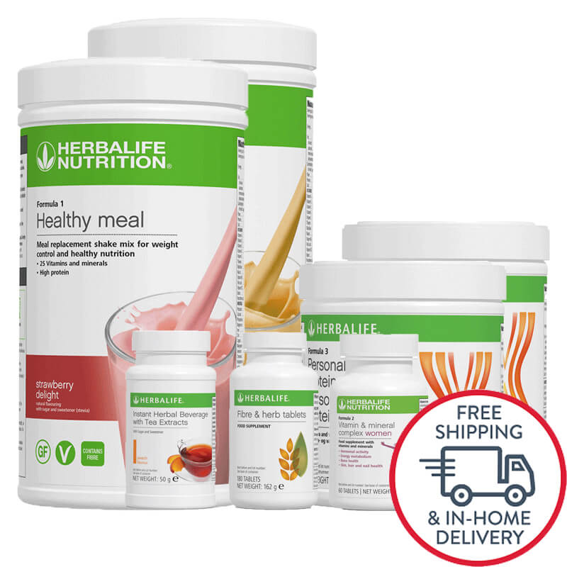 how much weight loss herbalife